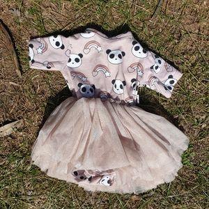 Huxbaby baby girls newborn tutu dress 000